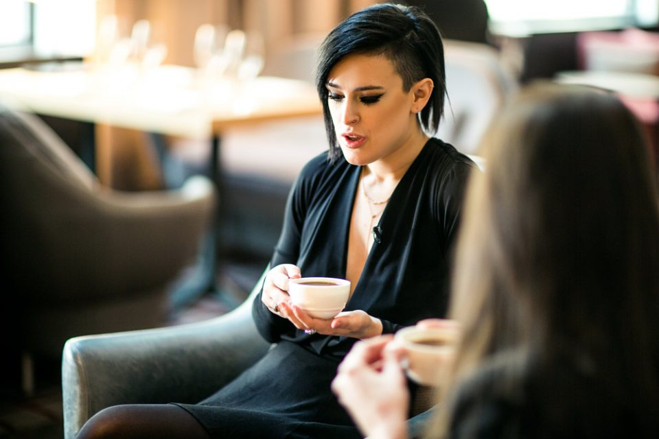 A Drink With Rumer Willis
