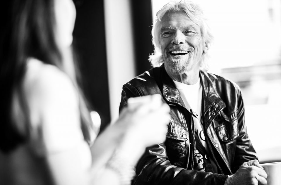 A Drink With Sir Richard Branson