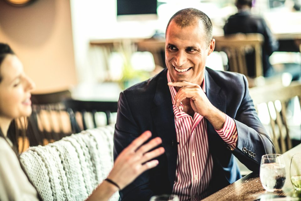 A Drink With Nigel Barker