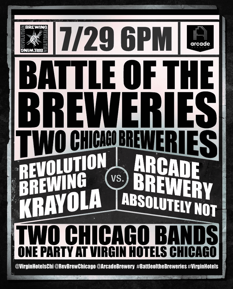 Battle of the Breweries Flyer
