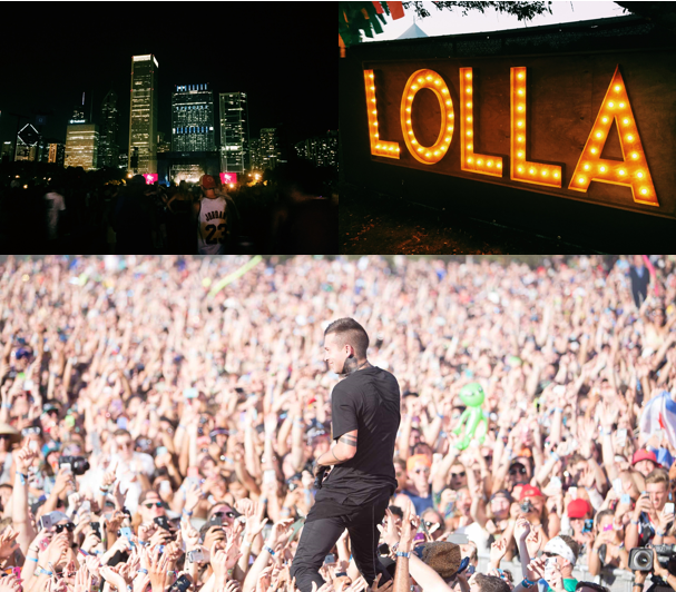 lolla collage