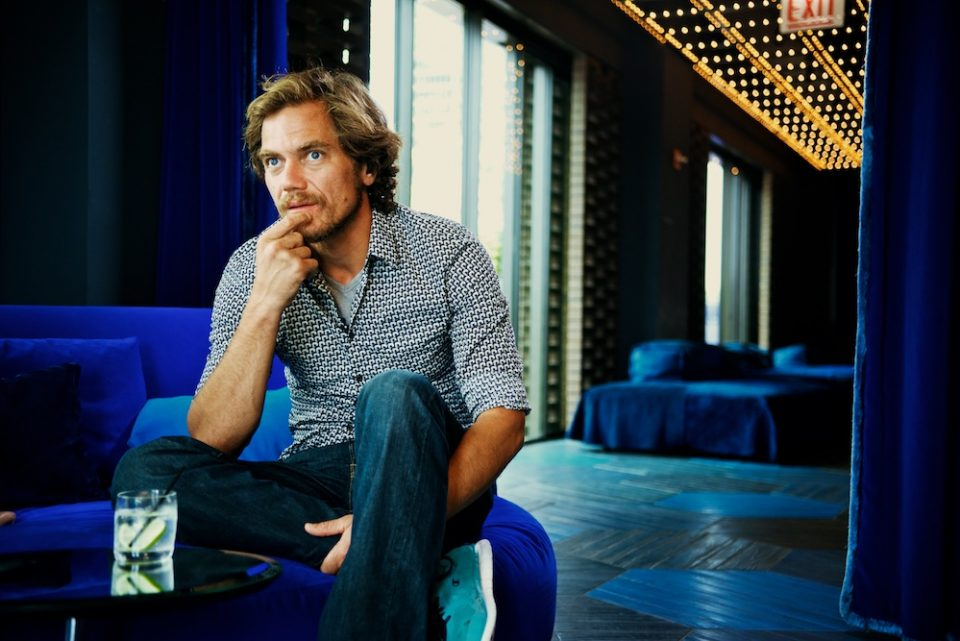A Drink With Michael Shannon
