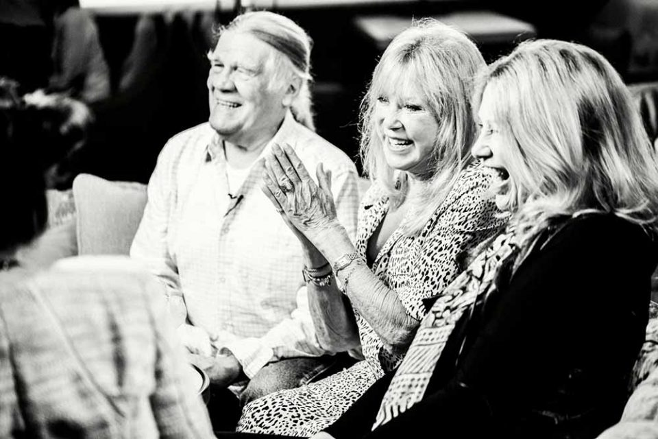 A Drink With Pattie Boyd, Carinthia West and Henry Diltz