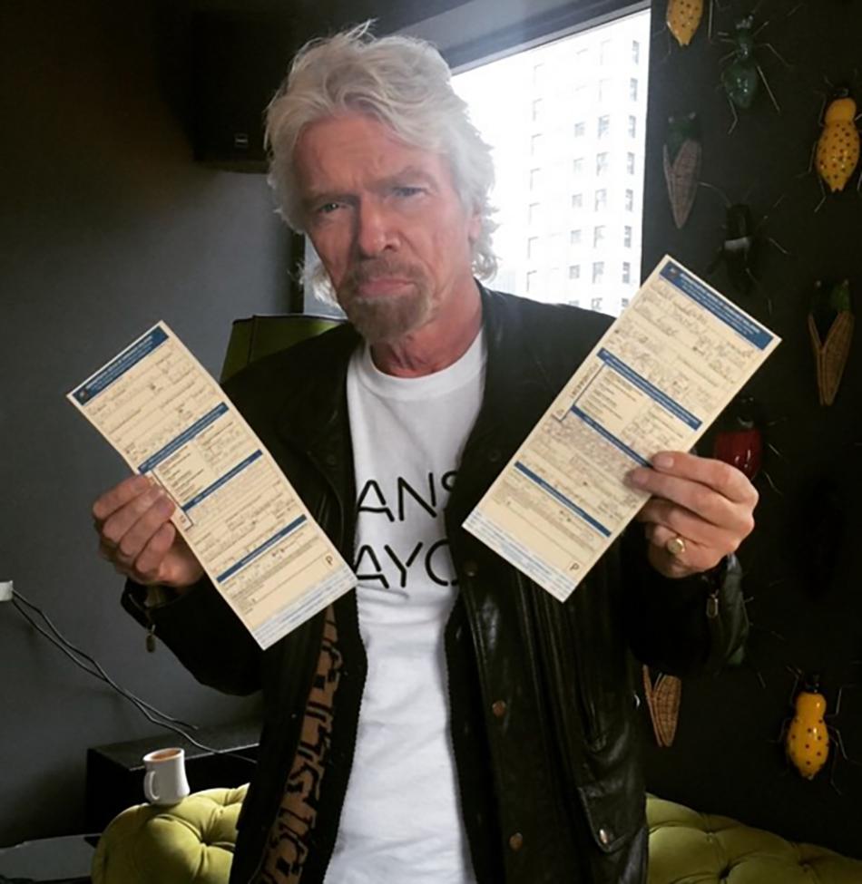 richard ticket copy