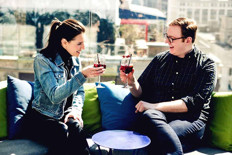 A Drink With Matt Bellassai