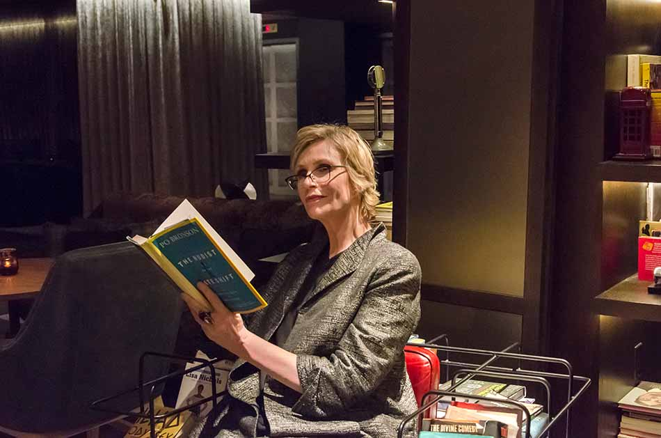 Funny Talk in The Funny Library with Jane Lynch
