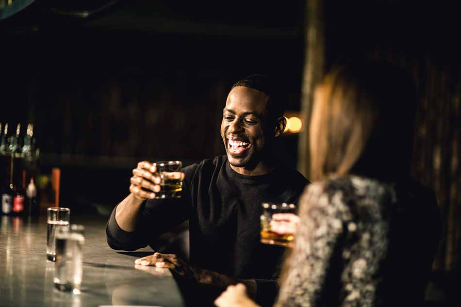 A Drink With Sterling Brown