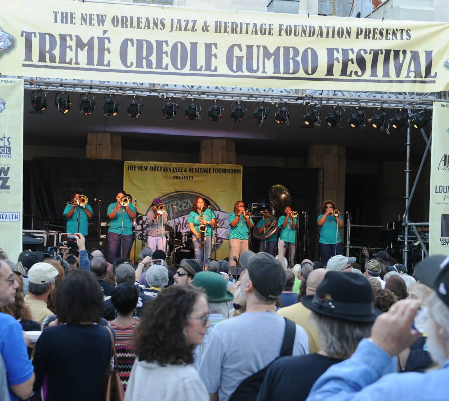 Live Music at the New Orleans Gumbo festival