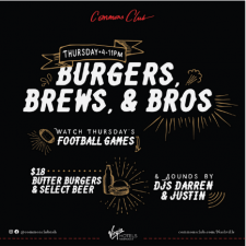 Burgers, Brews, & Bros