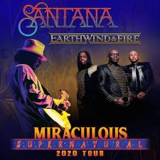 Santana, Earth, Wind, and Fire Logo