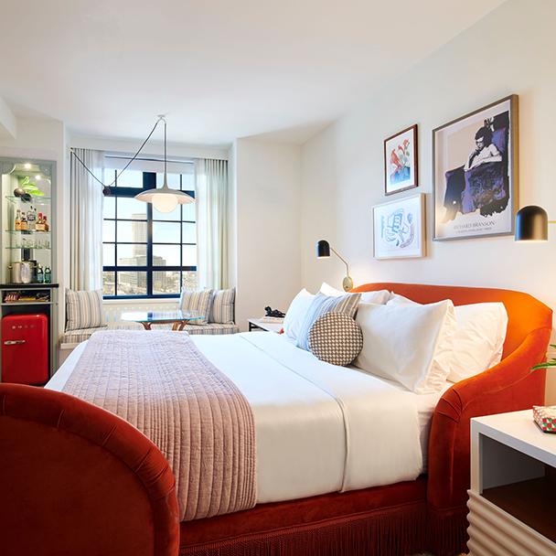 guest room in NOLA