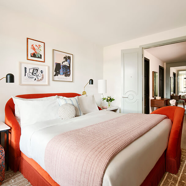 New Orleans hotel rooms