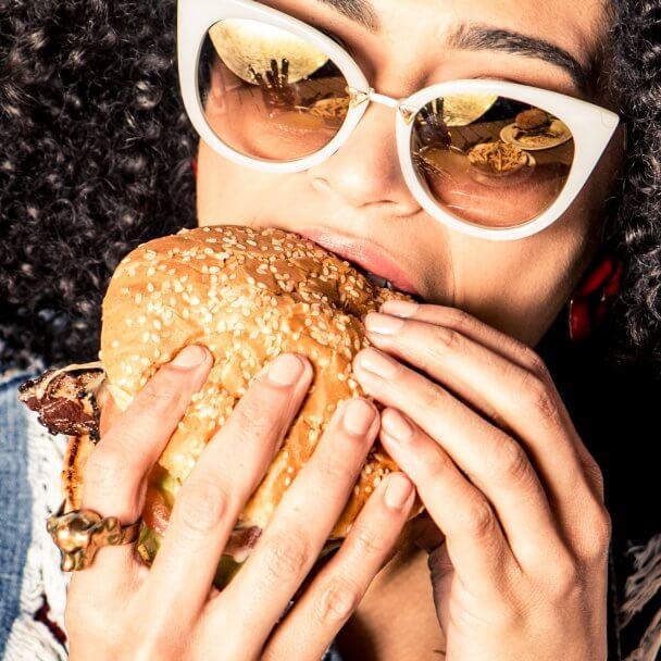 Cerise Burger
