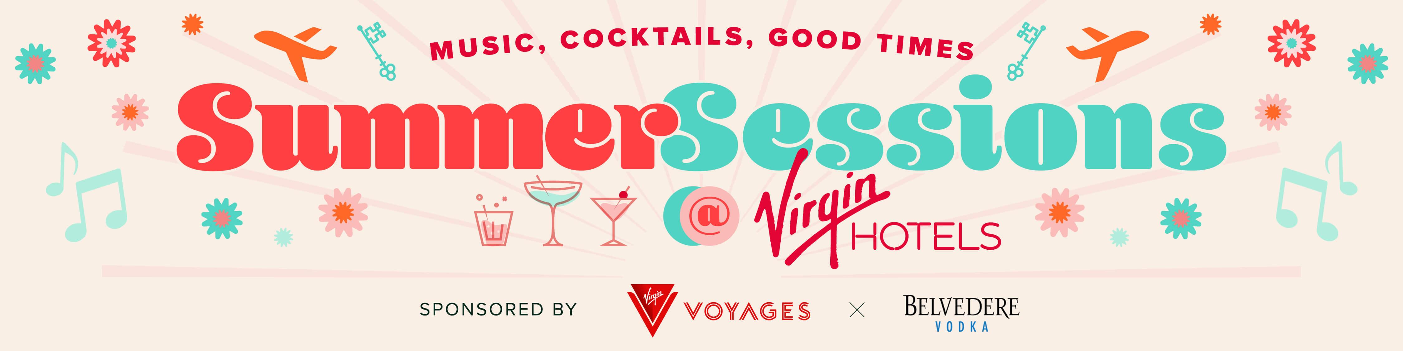 Summer Sessions at Virgin Hotels