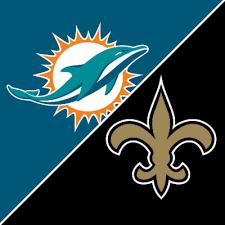 Dolphins vs Saints