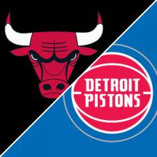 Chicago Bulls vs Detroit Pistons